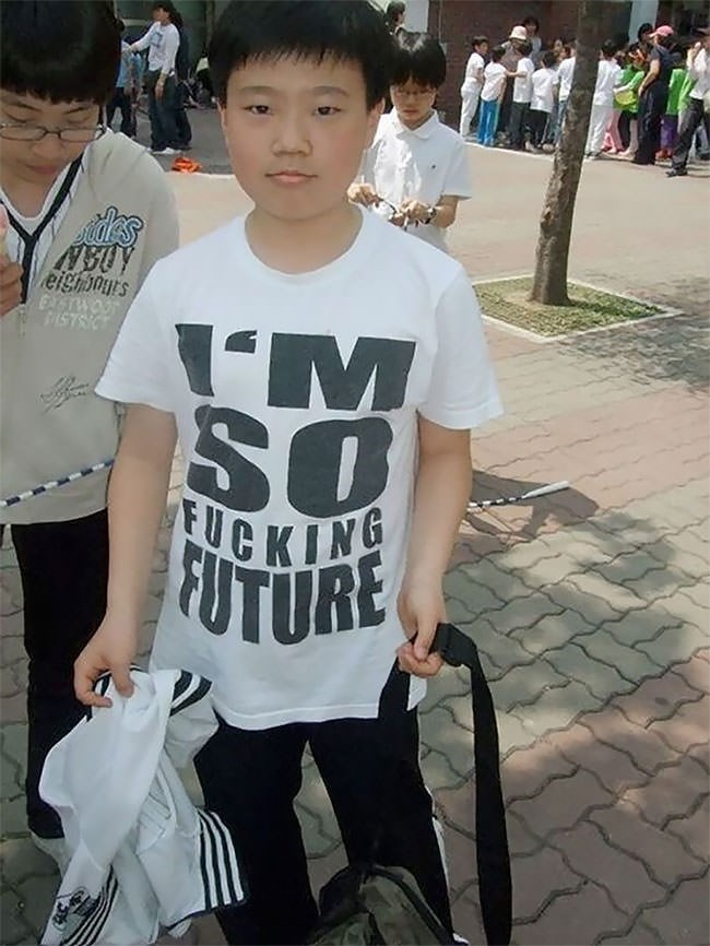 T-shirt - des eighors EXTWO STRIC SO CKING FUTURE