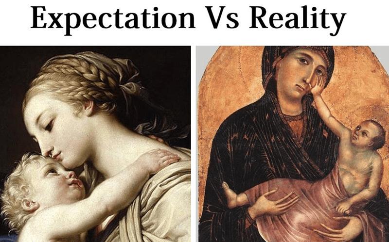Human - Expectation Vs Reality
