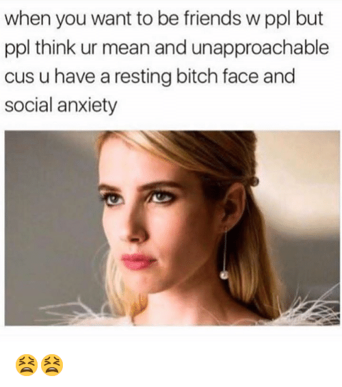 rbf relatable resting bitch face Memes emma roberts funny - 9147393792