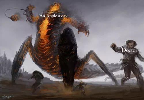 Mythology - An Apple a day Doctor elgo