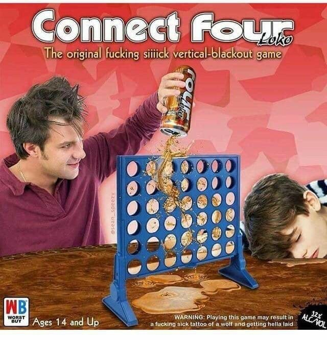 Funny meme about connect four, connect four loko.