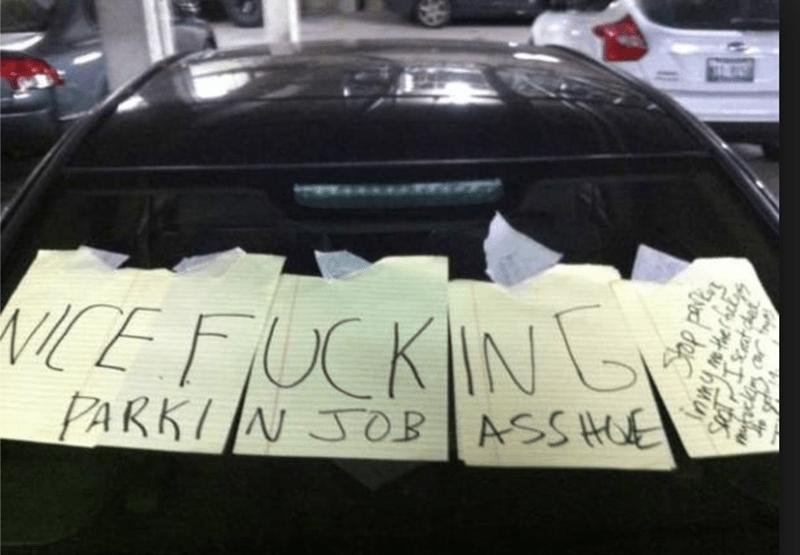 Automotive exterior - ICE FUCKIN PARKIJN JOB ASSHE