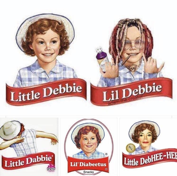 funny little debbie photoshops.