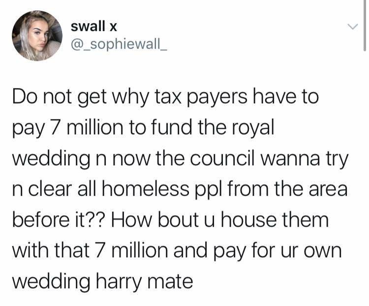 sunday memes - funny sunday tweet meme about the royal wedding