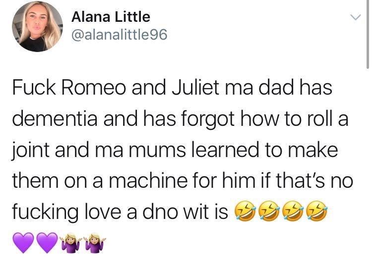 sunday meme about a romantic gesture