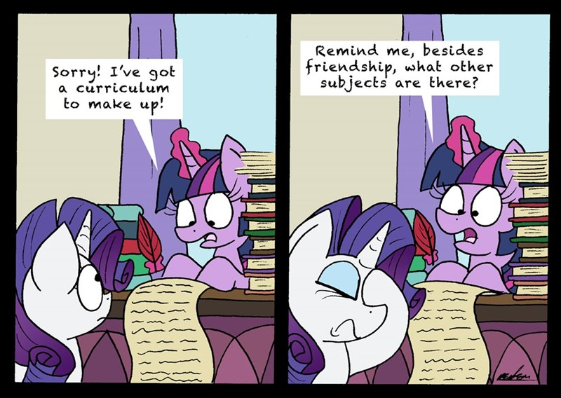 bob the dalek twilight sparkle fake it til you make it rarity comic - 9148384768