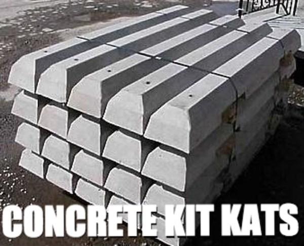 Metal - CONCRETE KIT KATS