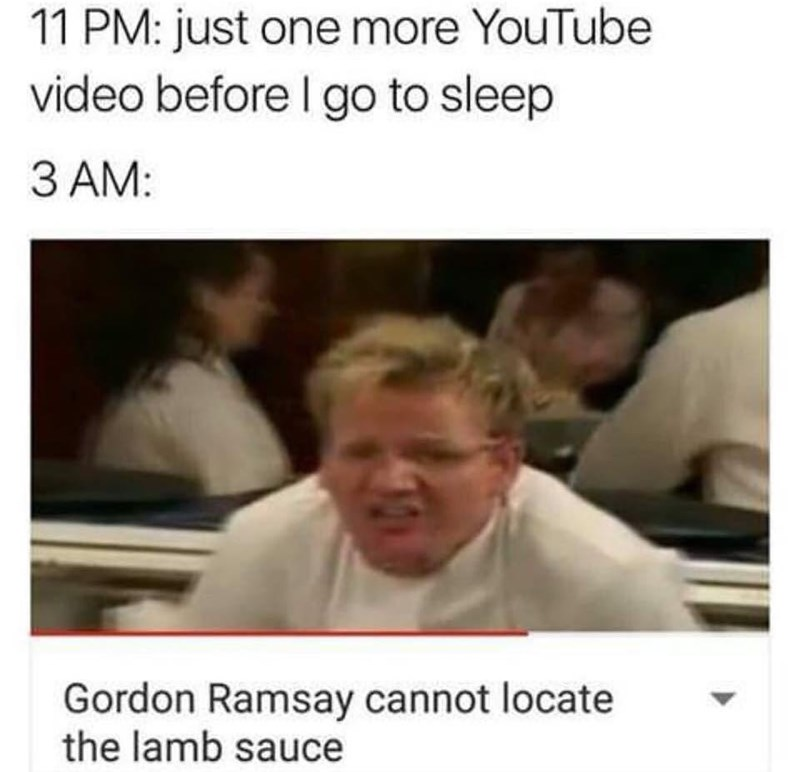 Funny meme about Gordon Ramsay.