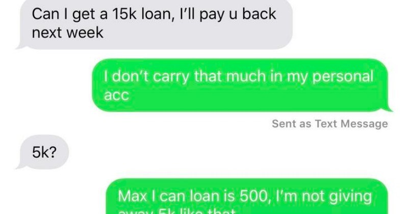 A collection of times that choosing beggars were terribly cheap negotiators.