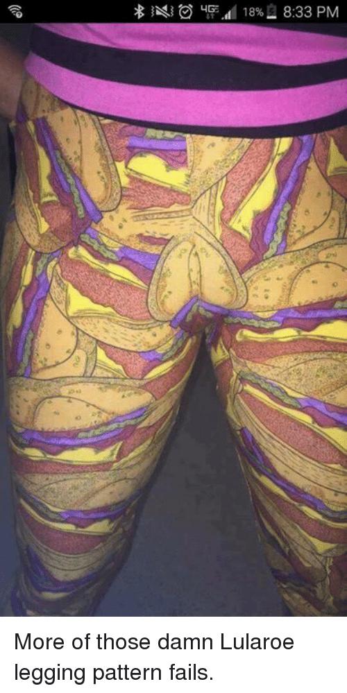 taco patterned lularoe leggings that look like feminine parts