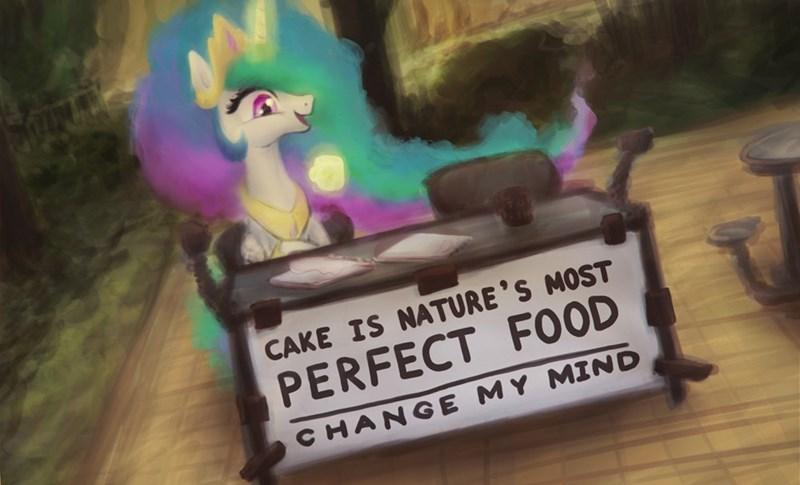 change my mind plotcore Memes princess celestia - 9148993024