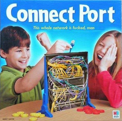 Play - Connect Port This whole network is fucked, man MB