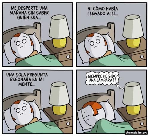lampara se hace una de esas preguntas que no te dejan dormir