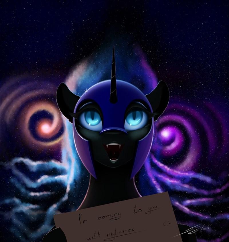 skitsniga nightmare moon the real nightmare is spelling errors princess luna - 9149410304