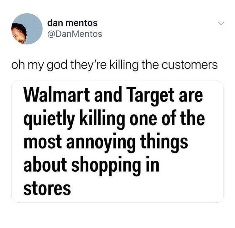 customer service twitter Walmart Target funny - 9149411584