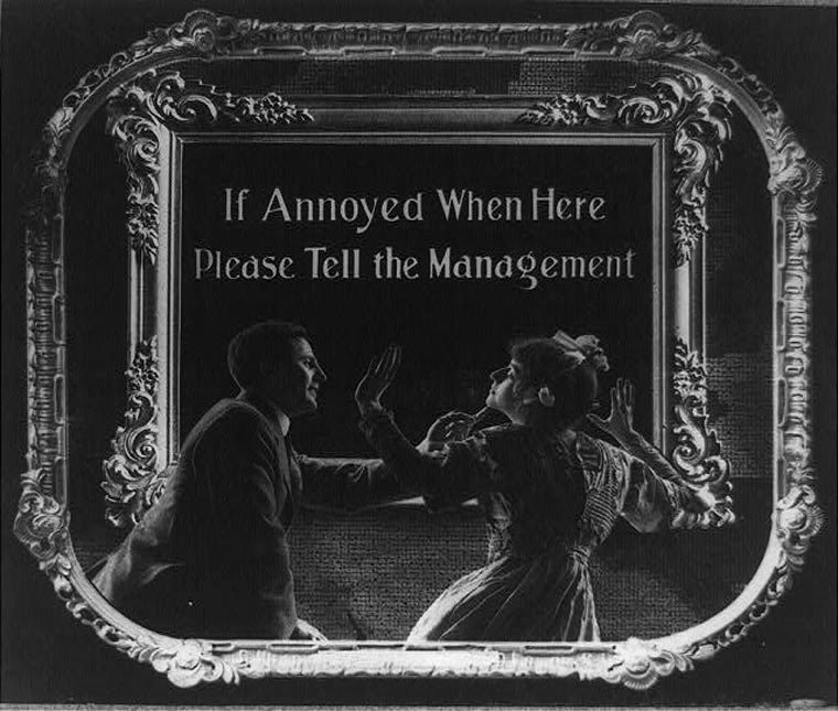 Font - If Annoyed When Here Please Tell the Management