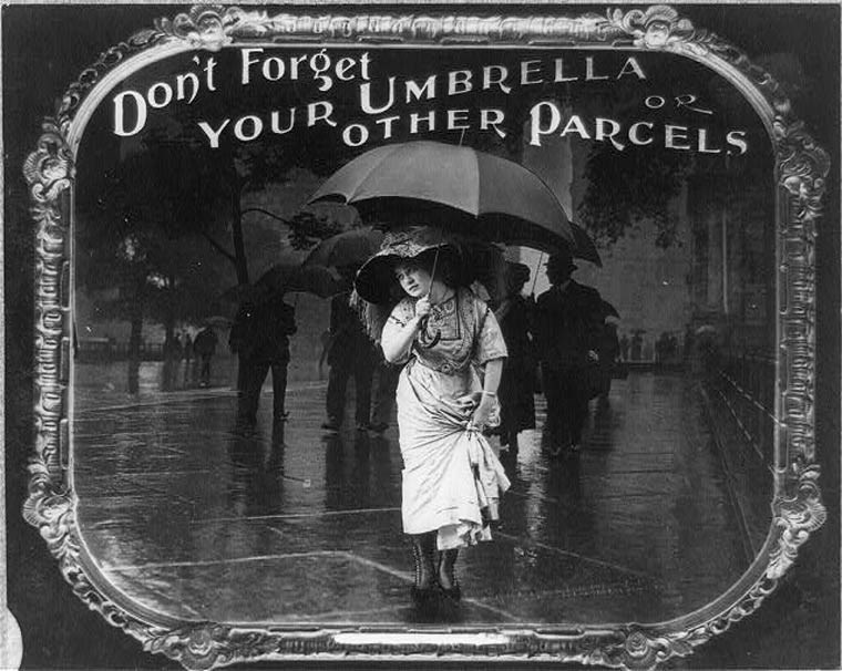 Photography - Dont Forget YOUR UMBRELLA OTHER PARCELS O