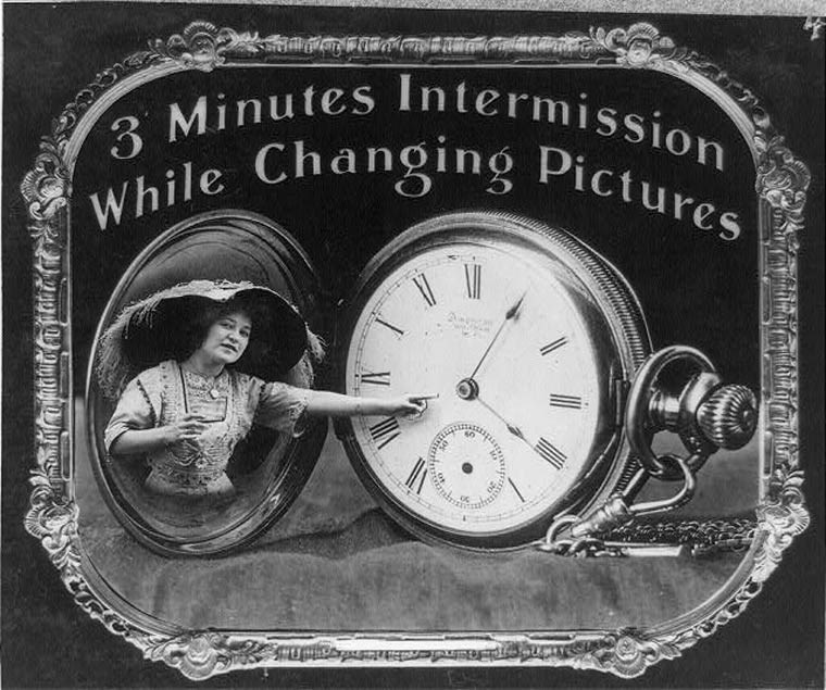 Clock - 3 Minutes Intermission Changing Pictures While 60