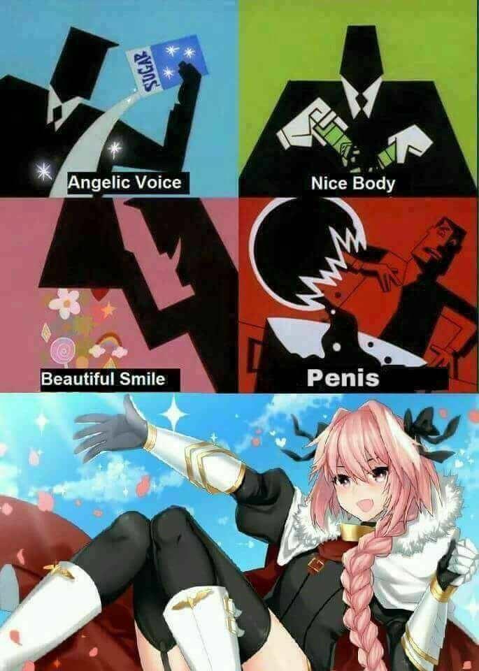 Cartoon - Angelic Voice Nice Body Penis Beautiful Smile