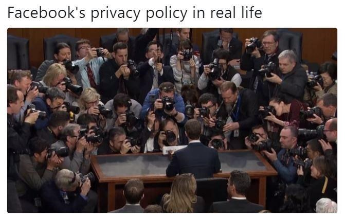 People - Facebook's privacy policy in real life