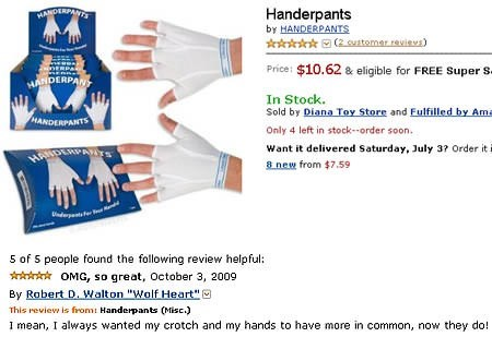 funny review for handerpants