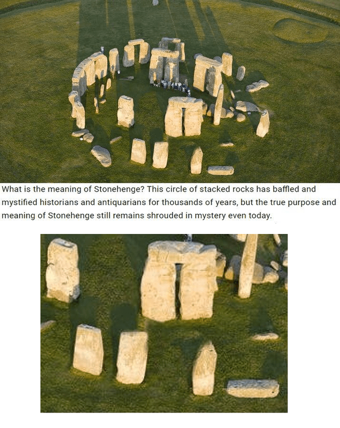 Loss Meme and the meaning of a Stonehenge