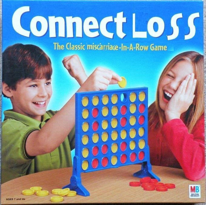 Loss Meme about the game connect as 'Connect Loss'