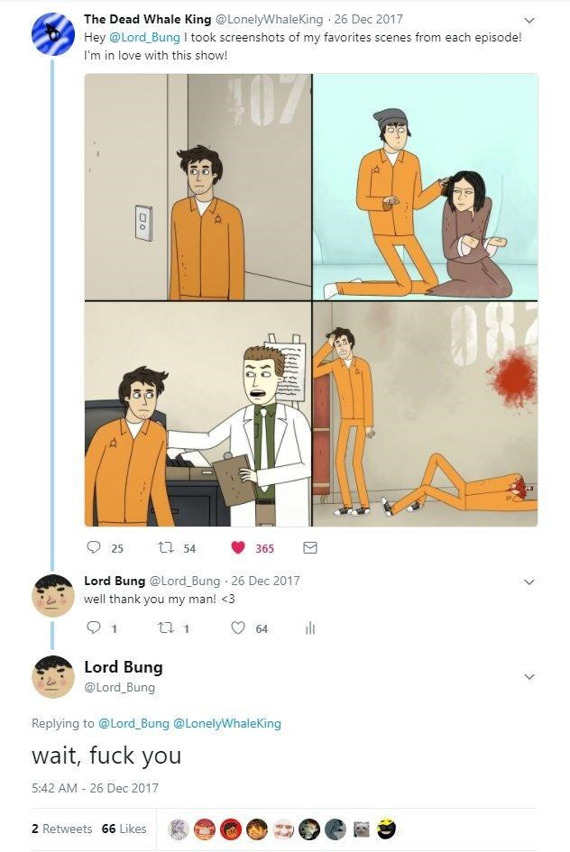 Loss Meme with lord bung confinement fanart