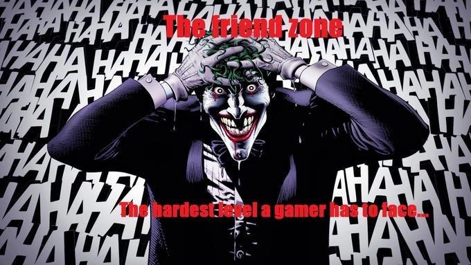 Joker - SAHOMANA HAH HAHA HA AHANA AN HA hardestfegel a gamer has to tace