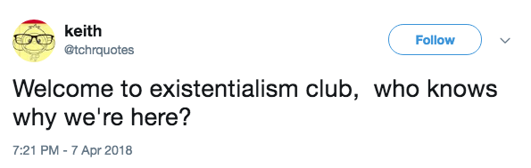 twitter existentialism funny - 9150452736
