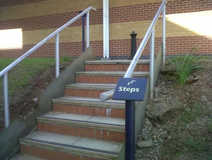 Handrail - Steps