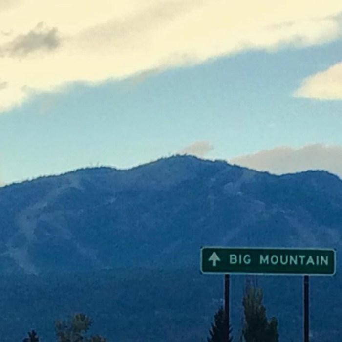 Sky - A BIG MOUNTAIN