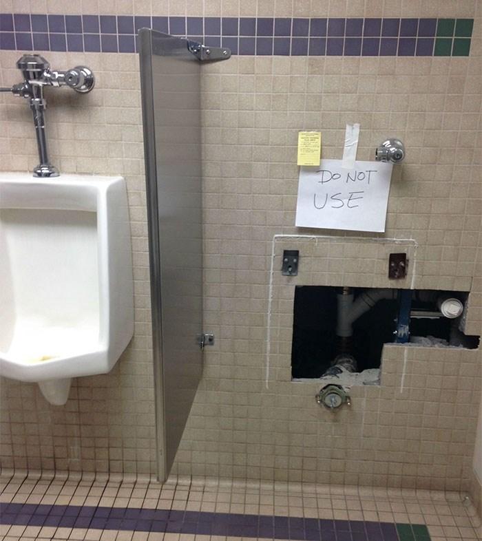 Urinal - Do NOT USE