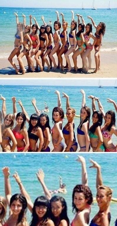 photobomb beach Memes funny - 9150774528