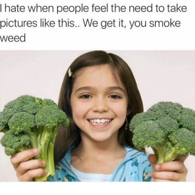 funny meme about smoking weed