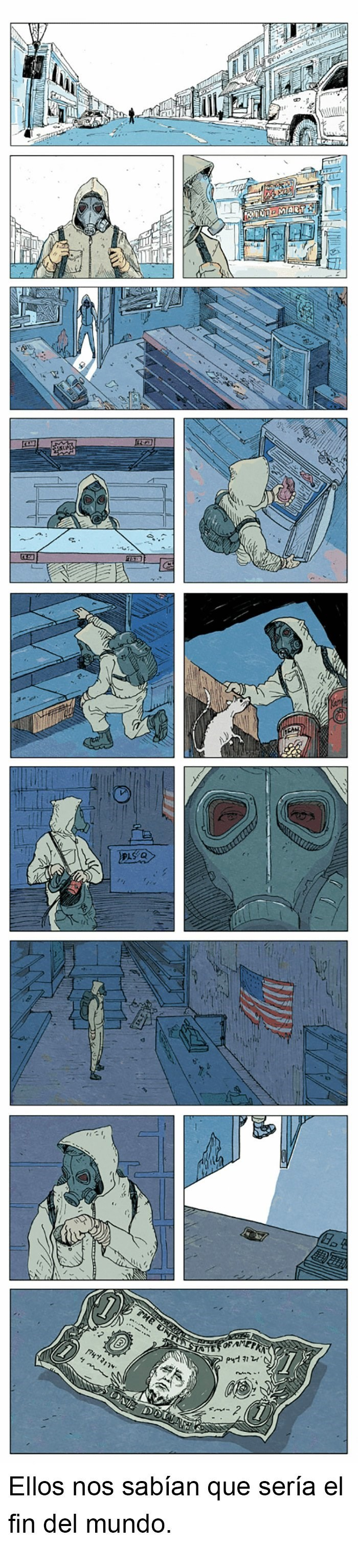 cada vez mas cerca a este comic publicado hace unos anos
