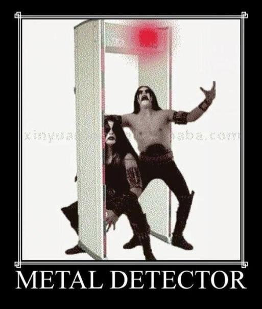 music meme - Poster - bacom METAL DETECTOR