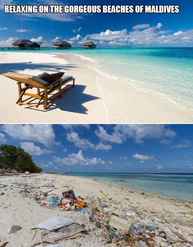 Shore - RELAXING ON THE GORGEOUS BEACHES OF MALDIVES