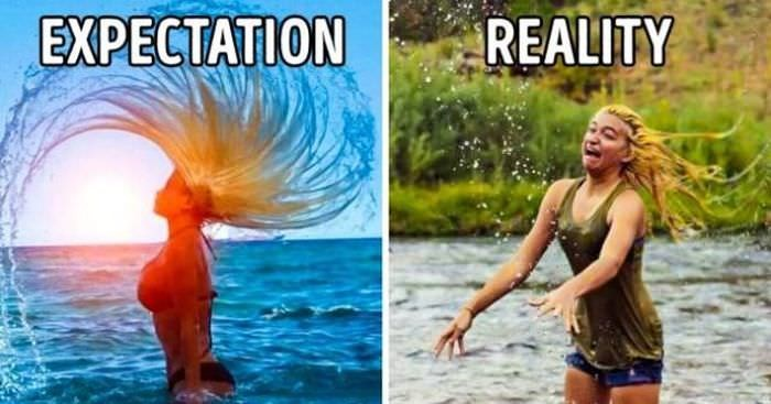 Water - EXPECTATION REALITY