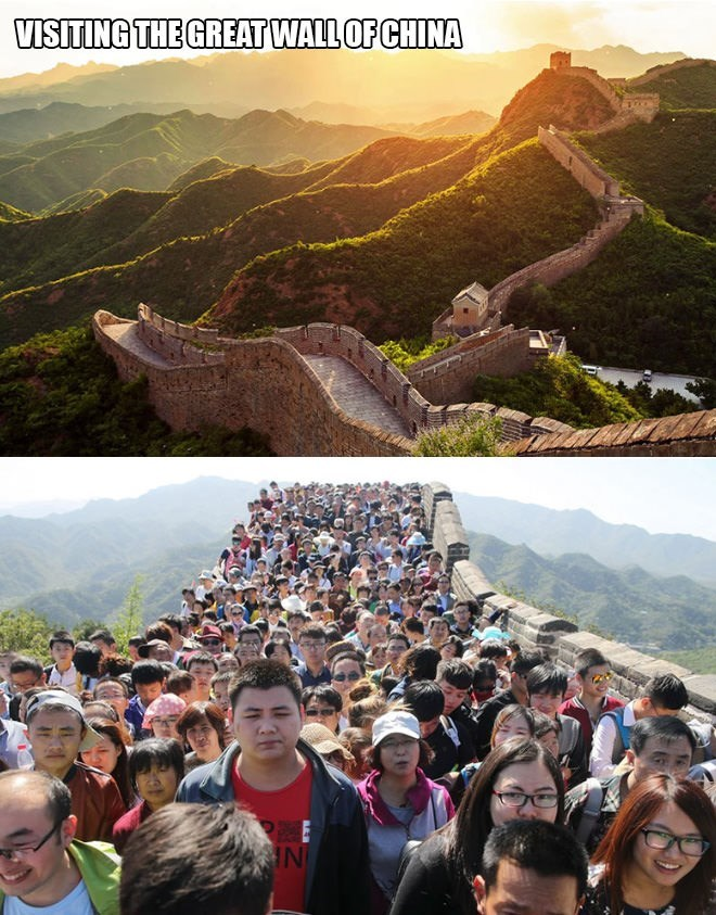 People - VISITING THE GREAT WALL OF CHINA IN
