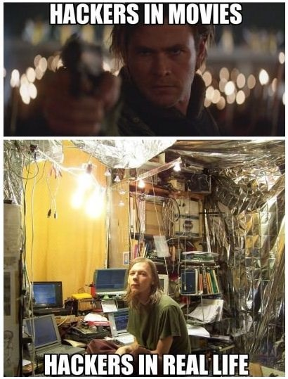Photography - HACKERS IN MOVIES HACKERS IN REAL LIFE