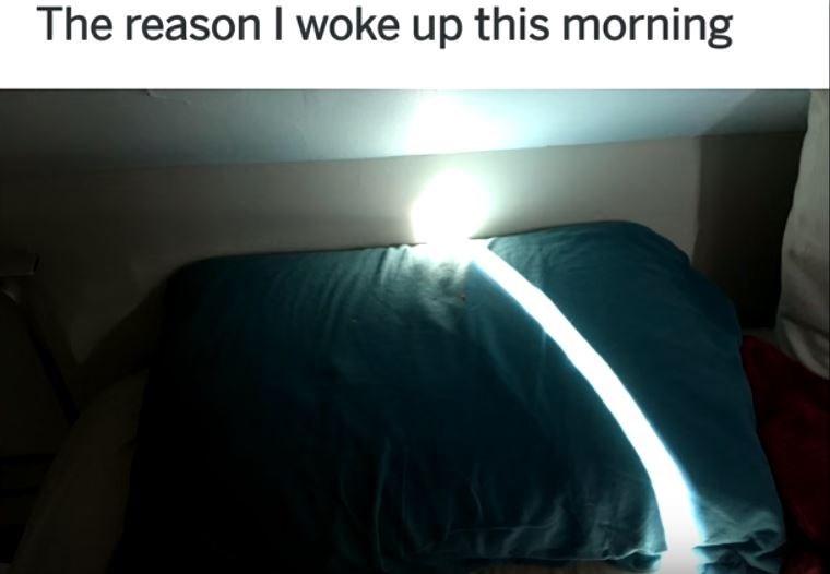 Light - The reason I woke up this morning