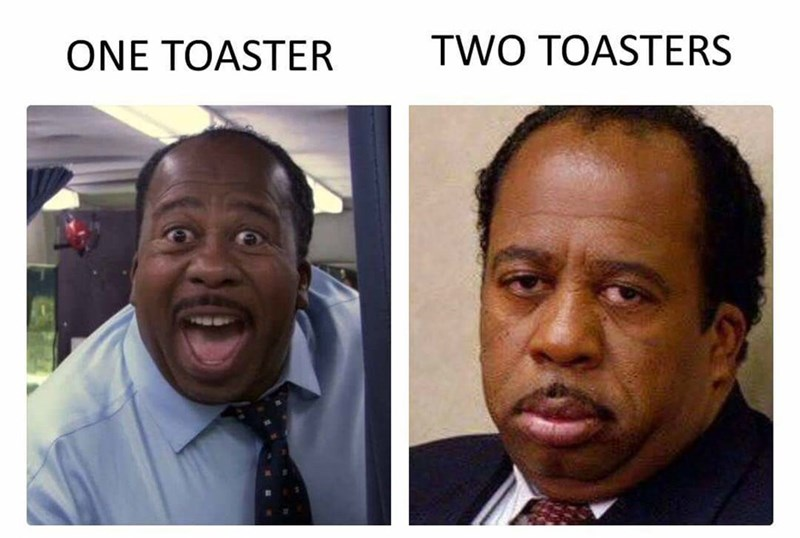 Face - TWO TOASTERS ONE TOASTER