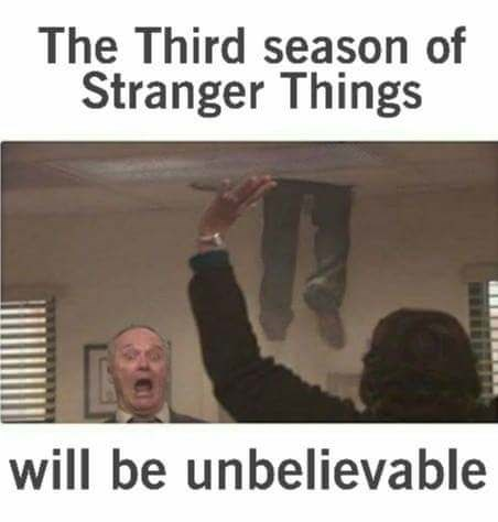 Photo caption - The Third season of Stranger Things will be unbelievable