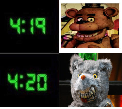 Digital clock - 4:1R 4:20