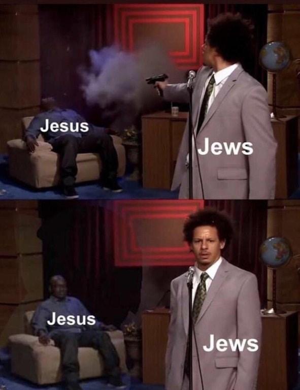 fake history - Suit - Jesus Jews Jesus Jews