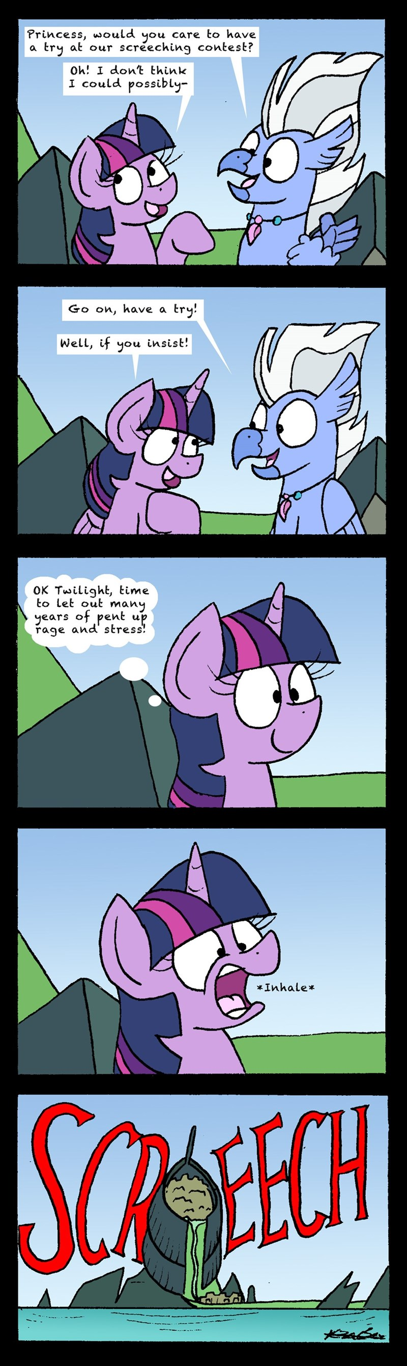 surf and/or turf bob the dalek twilight sparkle sky beak comic - 9154463232