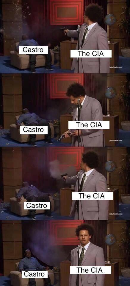 meme - Photography - Castro The CIA aduwi.com The CIA Castro Jaduw The CIA Castro Jaduawicomt The CIA Castro