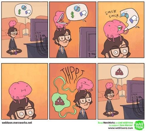 cuando el cerebro recibe demasiada informacion