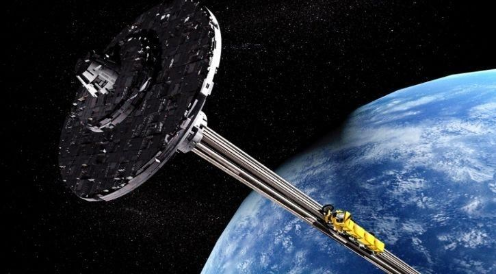 scientists want to build a space elevator to the moon